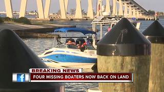 Boaters stranded at sea found alive and safe after hours long search - Video