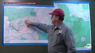 Raw: East Troublesome Fire early morning update from incident commander