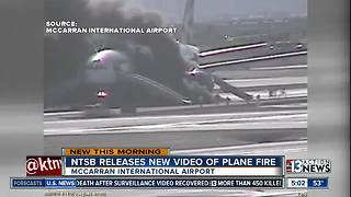 NTSB releases video of 2015 plane fire - Video