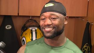 Ty Montgomery 'Itching' for season to start - Video