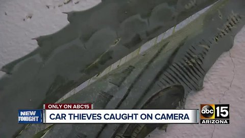 Ahwatukee couple wakes to thieves trying to steal SUV overnight