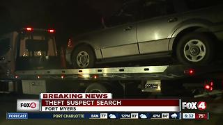 Suspect search under way after Fort Myers chase - Video