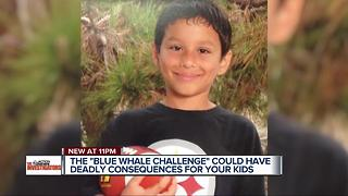 Blue Whale Challenge could have deadly consequences for your kids - Video