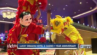 Lucky Dragon celebrates its 1-year anniversary, aiding in Asian tourism boost - Video