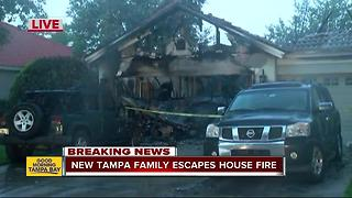Quick response to smoke detectors saves family of 5 from house fire - Video