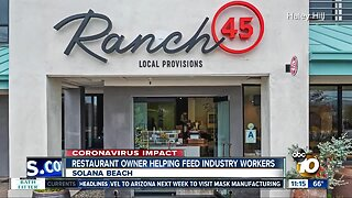 Restaurant owner helping feed industry workers