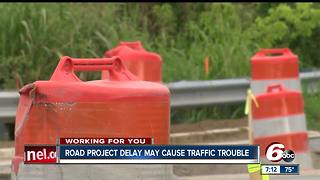 Zionsville road project may cause traffic trouble - Video