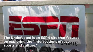 """Jemele Hill Leaves """"SC6"""" Edition of """"SportsCenter"""" For The Undefeated - Video"""