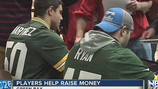 "Packers practice ""John Hancocks"" for fans, Salvation Army"