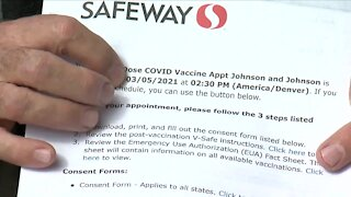 Safeway turns away hundreds of people scheduled for a vaccine