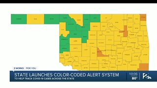 State health department launches color-coded COVID-19 risk map