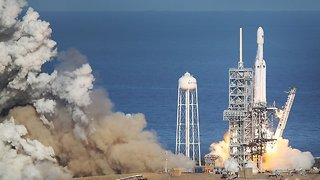 SpaceX's Falcon Heavy Launch Was Impressive Despite Years Of Delays - Video