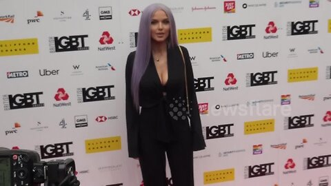 Helen Flanagan looks unrecognisable as she arrives at the British LGBT Awards 2019