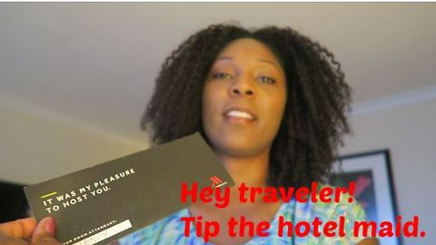 How much to tip the hotel maid