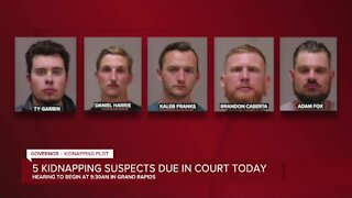 5 kidnapping suspects due in court Tuesday