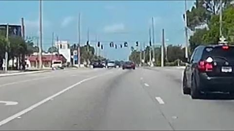 Watch What Happens With This Speeding Corvette At An Intersection