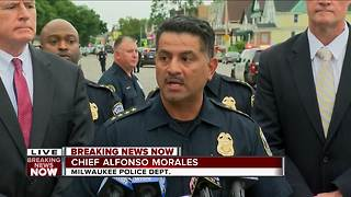 Milwaukee Police Chief: Officer shot on northwest side has died - Video