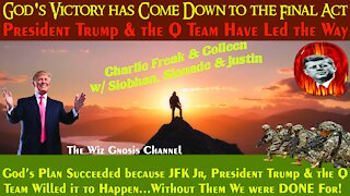 God's Plan has been Led by President Trump & the Q Team