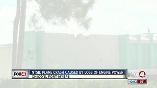 Plane crash at Chico's caused by power loss