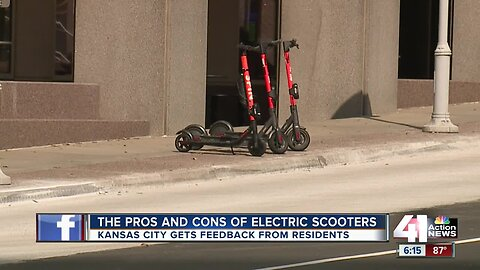 Scooters and e-bikes: Love them or hate them? KCMO wants to know