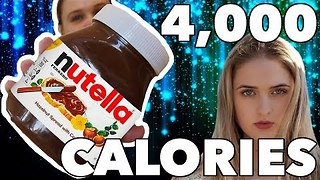 Extreme Eater Conquers Nutella Jar Challenge