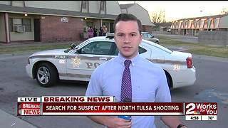 Boyfriend shoots girlriend in North Tulsa