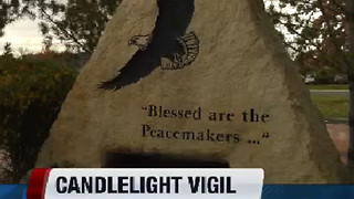 Vigil being held tonight for police community - Video