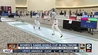 Women's Sabre World Cup comes to Baltimore - Video