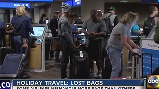 Sky Harbor airport packed w/ Thanksgiving travelers - Video
