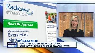 Buffalo first city in U.S. to use new ALS drug - Video
