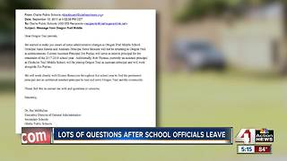 Oregon Trail Middle School principal, assistant principal not returning to school - Video