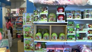 Local toy store sales rising