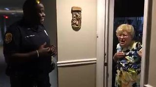 94-year-old Florida grandmother surprised by Clearwater Police Department's generosity before Irma
