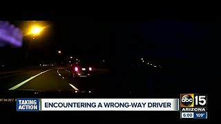 What to do if you encounter a wrong-way driver - Video