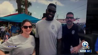 Stuart Police Department recruit gets call from NFL