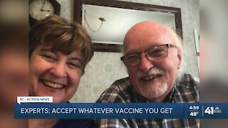 KC-area doctors say people shouldn't be picky about vaccines