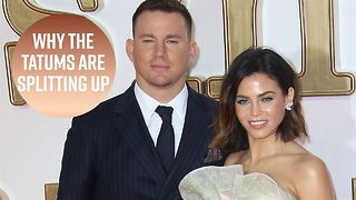 Channing Tatum and Jenna Dewan split after 9 years - Video