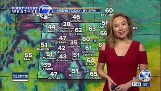 Another storm is heading for Colorado and it will bring heavy snow to the mountains - Video