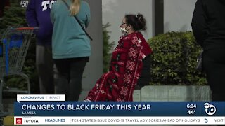 Black Friday in San Diego very different in 2020