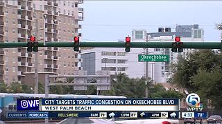 West Palm Beach targets traffic congestion on Okeechobee Boulevard - Video
