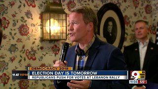 Candidates campaign in final hours before vote