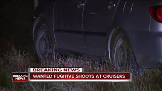 Manhunt underway for wanted fugitive who fired shots, led Wayne County authorities on chase - Video