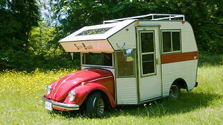 The VW Beetle That's Also an RV I Ridiculous Rides