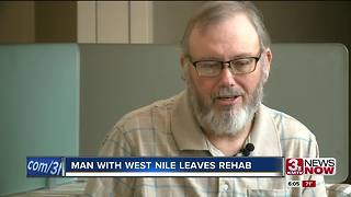 SW Iowa man with West Nile virus leaves rehab - Video