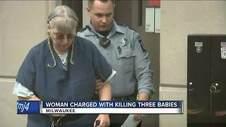 'I can't take kids that constantly cry': Woman charged for three infant murders from the 1980s - Video
