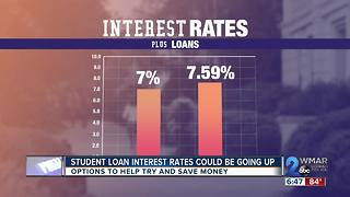Student loan interest rates potentially on the rise - Video