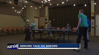 Local basketball team plays games with local seniors