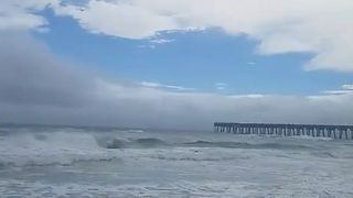 Storm Alberto Moves Through Panama City Beach - Video