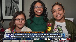 Non-profit works to empower & uplift young girls