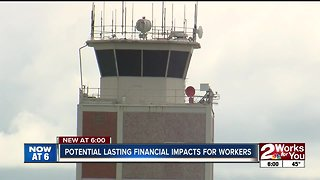 Government shutdown affecting air traffic controllers in Tulsa